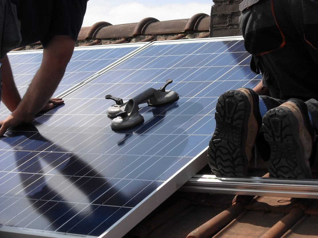 installateurs zonnepanelen